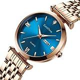 EuroTme Women's Wrist Watch, LRG Quartz 3ATM Water Resistance Ladies Watch