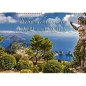 Sehnsuchtsinseln Capri und Ischia (Wandkalender 2017 DIN A3 quer): Träume vom azurblauen Meer begleiten Sie durch das Jahr (Monatskalender, 14 Seiten ) (CALVENDO Orte)