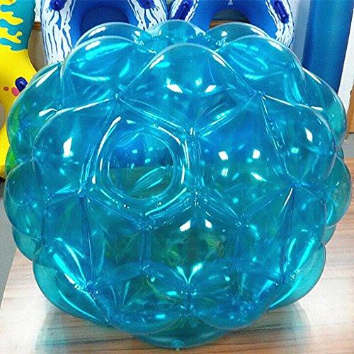 Lvmiao Bumper Balls Aufblasbare Buddy Bubble Ball Hamster Auch als Menschliche Zorb Fußball Anzüge Für Outdoor-Spiel Für Kinder und Erwachsene Aller Altersgruppen Bälle (1-Pack),Blue (Spiele Für Alle Altersgruppen)