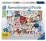 Ravensburger 14867 - Teeparty (XXL-Teile) - Puzzle 500 Teile
