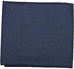 Siyaram Mens Trouser Fabric (Blue)