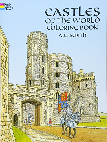 Castles of the World Colouring Book (Dover History Coloring Book)