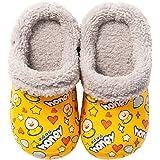 Niños Zuecos Unisex Invierno Pelusa Forro Pantuflas Lindo Cálido Antideslizante Suave Ligeras Niña Zapatos de Jardín