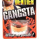 Dientes postizos 'Gangsta'plateado.