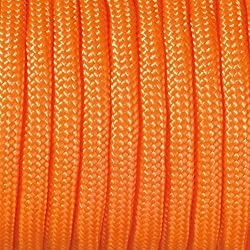 Paracord - Rollo de cordaje (2 mm x 5 m), color naranja