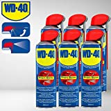 PROMO 6 PZ BOMBOLETTA WD40 WD-40 WD 40 DA 500ML SBLOCCANTE LUBRIFICANTE MULTIUSO