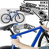 MEOLLO Soporte Colgador para Bicicleta (100% Acero) - Fabricado en España.