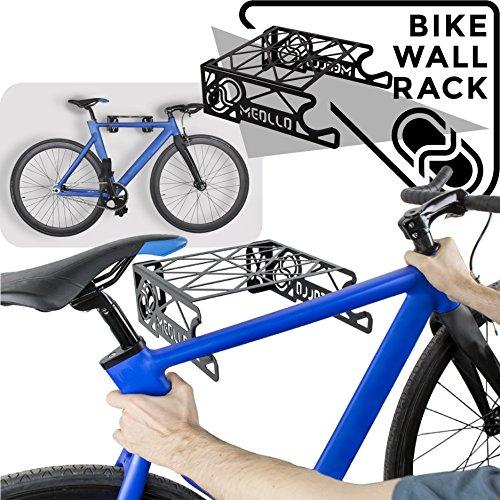 MEOLLO Soporte Colgador para Bicicleta 100% Acero - Fabricado en España.
