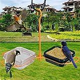 GFYWZ Hängender Vogel-Zufuhr-Tauben-Kanarienvogel-Papageien-Vogel-Zufuhr Für Garten-Dekoration Im Freien,02