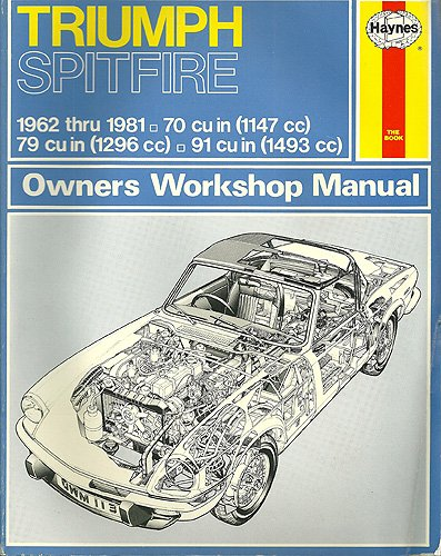 Triumph Spitfire Owners Workshop Manual 1962 - 1981