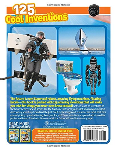125 Cool Inventions (National Geographic Kids)