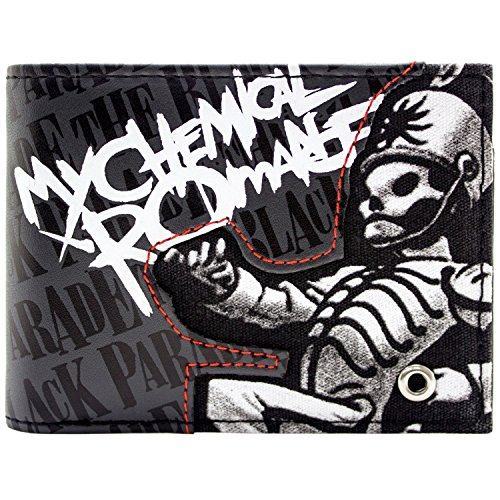 My Chemical Romance Black Parade Rock Grau Portemonnaie - Parade Qualität Kostüm
