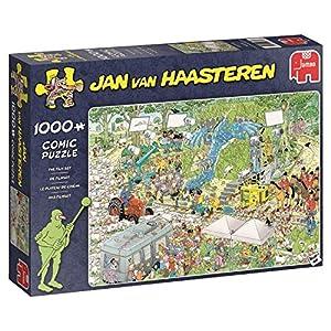 Jan Van Haasteren The TV Studios 1000 pcs Puzzle - Rompecabezas (Puzzle Rompecabezas, Comics, Adultos, Niño/niña, 12 año(s), Interior)