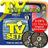 Classic Cuts Presents TV Sets Vol 5 & 6 Double CD - 70s 80s & 90s Themes & Ad's