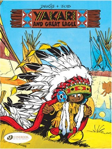 Yakari - tome 1 And the Great Eagle (01) par Derib