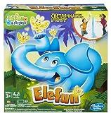 Hasbro Gaming - Elefun, juego de acción  (versión en inglés)
