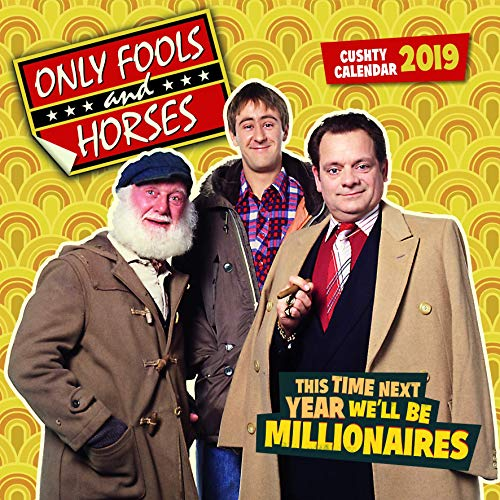 Only Fools and Horses 2019 Wall Calendar Official