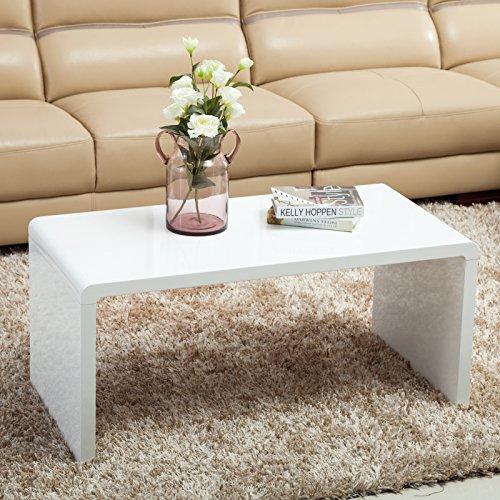 Uenjoy fashion white brief coffee table side end table for Coffee tables uae