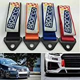 #6: Sparco Orange Tow Strap Racing Ribbon Stainless Steel Hardware NEW