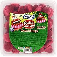 Vidal - Fresas del bosque rellenas - Caramelo de goma - 65 unidades