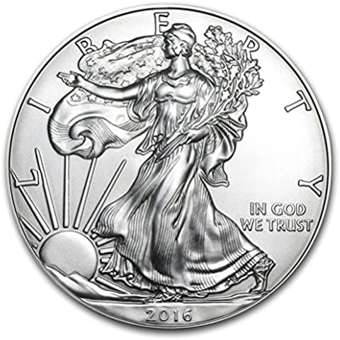 2016 Silver American Eagle Coin by American Eagle