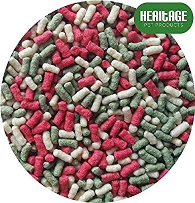 Heritage Floating 15L BAG Pond Variety Sticks Mix Koi & Goldfish Fish Food 15 Litres Feed Ponds by Heritage Pet Products