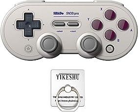 SN30 Pro G Gamepad, YIKESHU ausgezeichnete 8Bitdo Controller Nintendo Switch, Wireless Game Controller kompatibel mit 8bitdo Nintendo Switch mit Vibration für PC Mac Android und Windows-Geräte nintendo 64(TOY00022GB)
