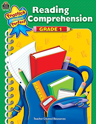 Reading Comprehension, Grade 1 (Practice Makes Perfect)