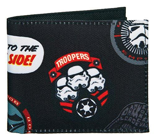 Undercover SWTP7720 Geldbörse, Star Wars Patch, ca. 11 x 9 x 1 cm (Elf Patch)