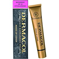 Dermacol Daily Use Make-up Cover Foundation Cream With SPF For Face makeup, Water-Proof SPF30, 30g