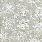 Winter Wunderland Stoff | die eleganten weißen
