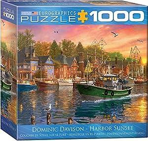 Eurographics 8000-0969 Harbour Sunset - Puzzle (1000 Piezas)