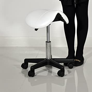 Beauty Therapist Pedicure Swivel Saddle Stool (White) Amazon.co.uk Kitchen u0026 Home & Beauty Therapist Pedicure Swivel Saddle Stool (White): Amazon.co ... islam-shia.org