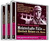 Meisterhafte Fälle von Sherlock Holmes und Dr. Watson (3 CDs)