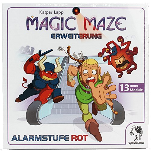 Maze: Alarmstufe Rot Erweiterung (deutsch) (Magic E Spiele)