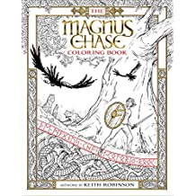 The Magnus Chase Coloring Book (Magnus Chase and the Gods of Asgard)