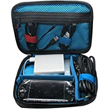Teckone Universal Mehrfachfunktion Zubehör tragen Beutel-Kasten für USB-Kabel Speicherkarte Netzkabel Akku Energienbank WD/Samsung Festplatte elektronische Kleingeräte Mittlere