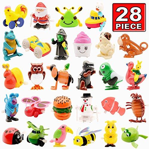 Jouet--Remonter-Set-de-Jouet-mcanique-28-Pack-Assorti-Jouet-de-Cadeaux-pour-Soire-dAnimal--Remonter-Excellent-Cadeau-Pour-Garons-Fils-Enfants-Tout-Petits