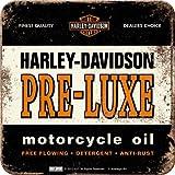 5 Untersetzer - 9 x 9 cm - Harley-Davidson Pre-Luxe