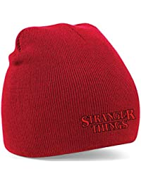 New Embroidered Stranger Things Beanie Hat