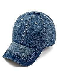 Demarkt Casquette Chapeau Toile Jeans Soleil Baseball Réglable Hip-Hop Golf-Casquette Moderne Mode Pour Homme Femme 1PC
