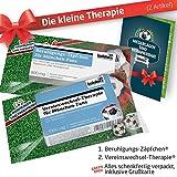 Die Kleine Therapie für München-Fans | 2X süße Saison-Schmerzmittel | Witzige Geschenke & Fanartikel by Ligakakao.de | Besser als Kaffee-Tasse, Kaffeepott, Becher oder Fahne