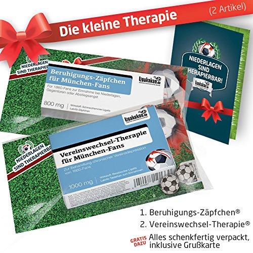 Geschenk-Set: Die Kleine Therapie für 1860 München-Fans | 2X süße Schmerzmittel für TSV 1860...