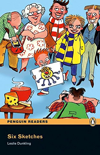Penguin Readers 1: Six Sketches Book & CD Pack: Level 1 (Pearson English Graded Readers) - 9781405878203