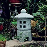 Lanterne in pietra da pavimento per esterni giardino giapponese antico prato lampada da palazzo lampada da interno decorazione per interni esterni paesaggio Zen - (A, B, C, D) C30*30 * 50cm