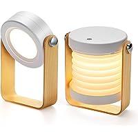 Bromose Lampe de chevet Dimmable Touch Light, Lampes de chevet portables pour lampe de chevet avec table de nuit…