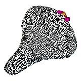 Liix Sattelbezug Keith Haring People