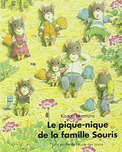 Le Pique-nique de la famille Souris par Kazuo Iwamura