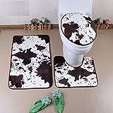 Baños tres pedazos de tierra baños almohada almohadillas absorbentes, Grano DE VACA