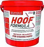 Biotine pour chevaux - Avec zinc, vitamine B6, lysine - Seau de 5 kg Hoof Formula pour env. 200 jours - Aliment complémentaire